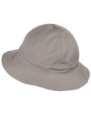 NYFASHION101 Unisex Lightweight Crushable 6 Panel Button Top Cotton Bucket Hat