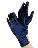 NYFASHION101 Solid Color Classy Elegant Formal Wrist Length Satin Gloves