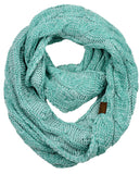 Soft Winter Warm Chunky Knit Cowl Infinity Loop Scarf