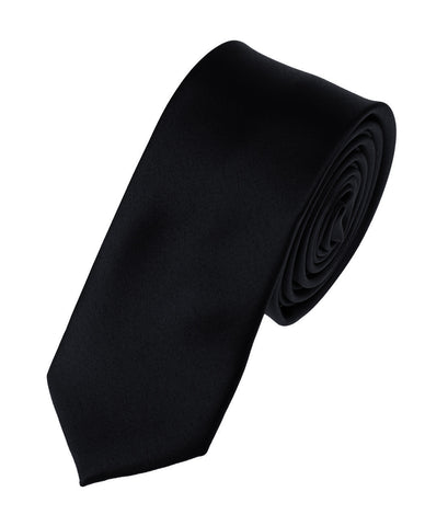 "Mens Solid Color 2"" Skinny Tie"