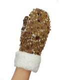 NYfashion101 Exclusive Women's Confetti Knit Winter Warm Cuff Mittens