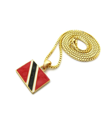trinidad tob pendant gold culture color necklace products