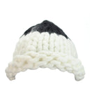 NYfashion101 Two Tone Handmade Big Chunky Loop Helsinski Hat Beanie