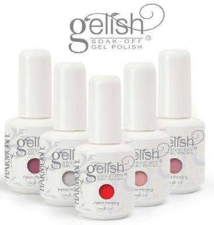 Gelish Soak Off Gel - 21 colors. 0.5 fl oz