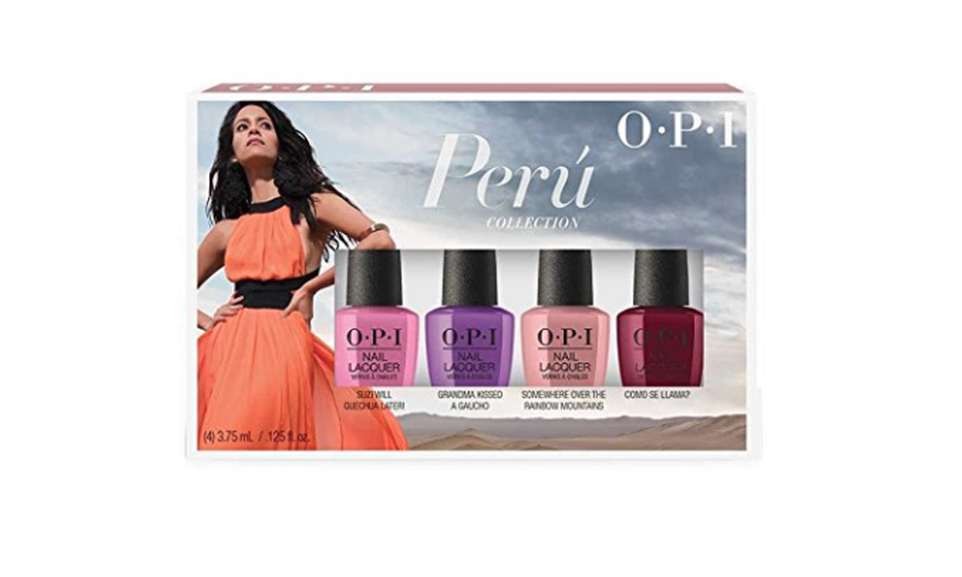 OPI Peru Collection Fall 2018 - 4 mini set