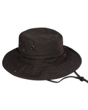 NYFASHION101 Men's Crushable Snap Brim Cotton Outdoor Bucket Sun Hat