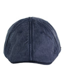 NYFASHION101 Men's Classic Washed Cotton Duck Bill Newsboy Ivy Cap