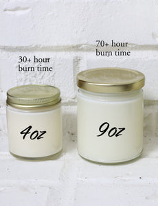 """Love is a Fire"" - Funny Valentine's Day Candle"