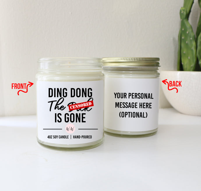 Divorce Gift Candle