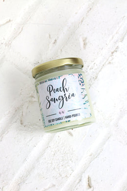 Peach Sangria - Scented Soy Candle