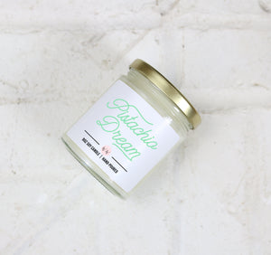 Pistachio Dream - Scented Soy Candle