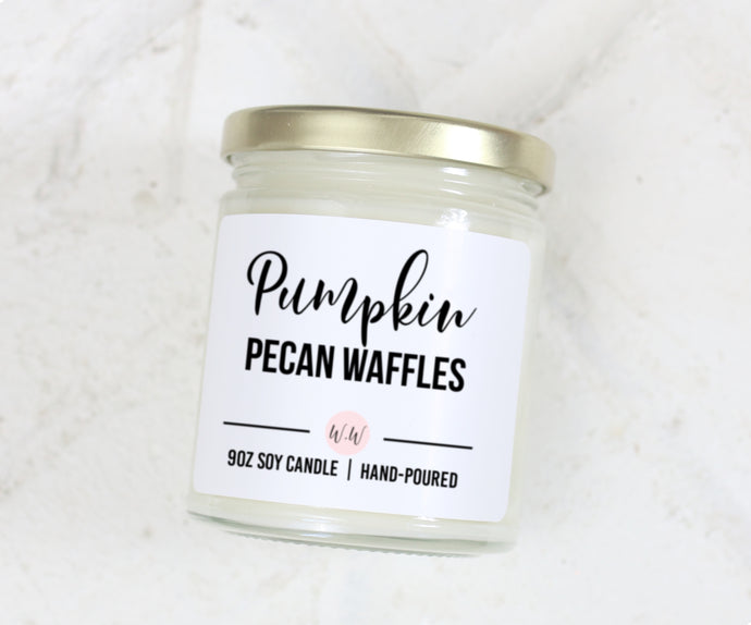 Pumpkin Pecan Waffles - Scented Soy Candle