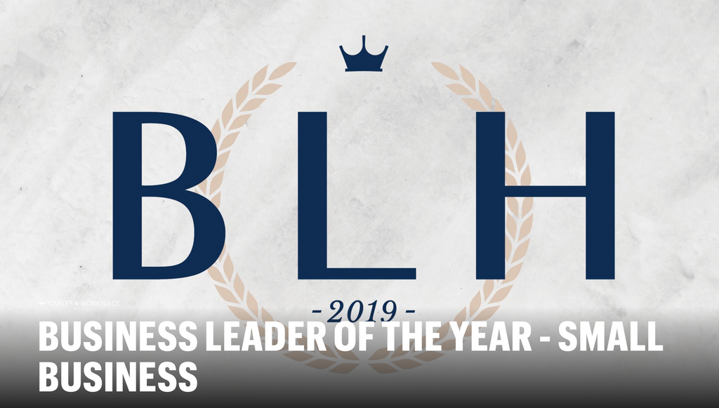 BUSINESS LEADER OF THE YEAR - SMALL BUSINESS