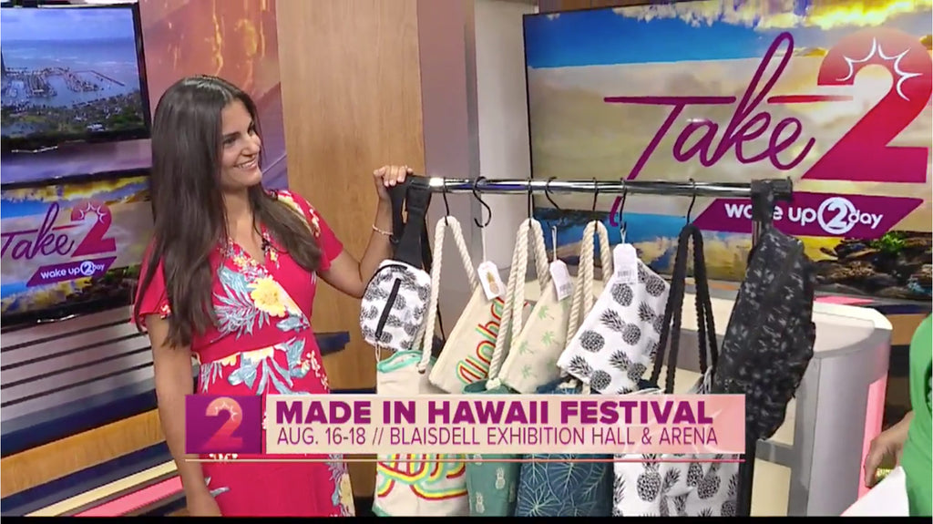 Made in Hawaii Festival to Include Bags by Tag Aloha Co.