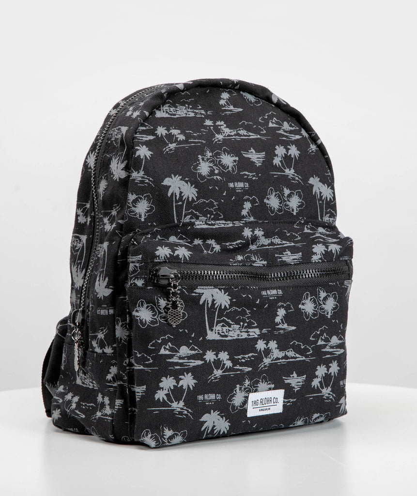 Hawaiian Backpack- Hawaiian print