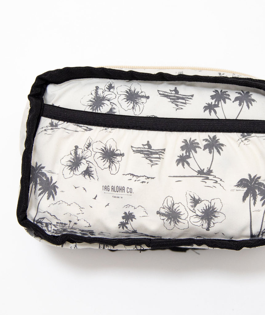 White Pineapple Beach Bum Bag