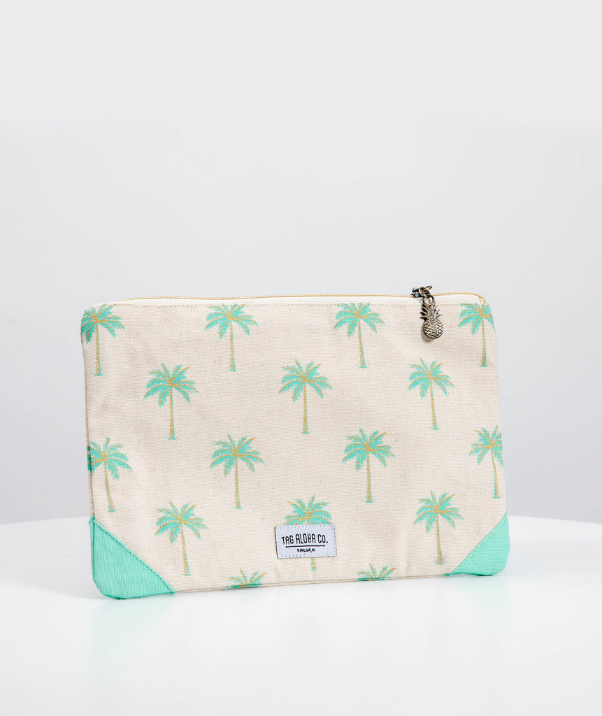 Coconut Palm Clutch