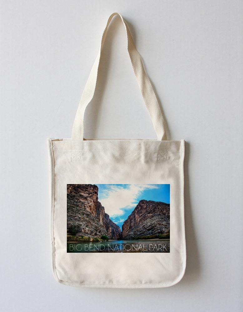 Tote Bag (Big Bend National Park, Texas - Rio Grande River - Lantern Press Photography) Tote Bag Nightingale Boutique Tote Bag