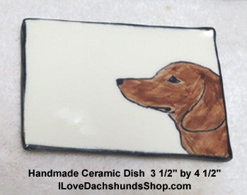 Dachshund Dish for Soap, Spoon Rest, Jewelry