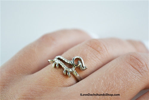 Dachshund Open Line Ring