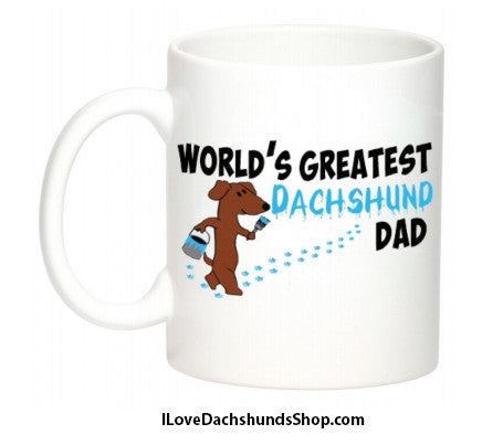 World's Greatest Dachshund Dad Mug
