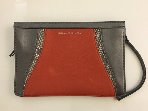 Small Leather Pouch w/ Leather Strap