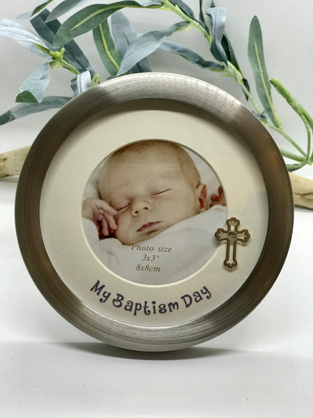Baptism Day 3X3 Photo Frame
