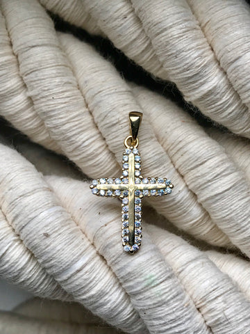 Yellow Gold Cross 50