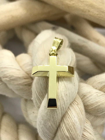 Triantos Yellow Gold Cross 21