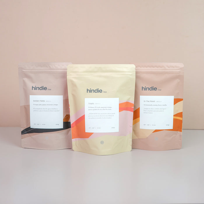 Pack Cozy Brew tés en hebras I Hindie Tea