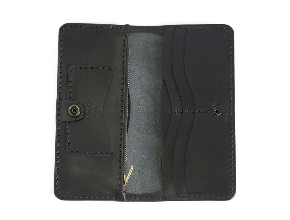Long Wallet // Super Black