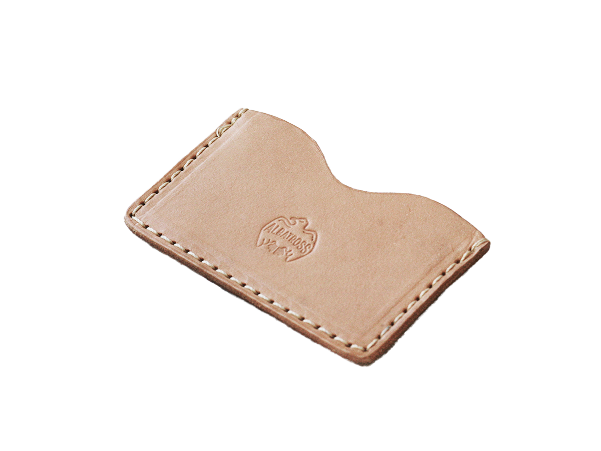 Slim Card Sleeve // Natural