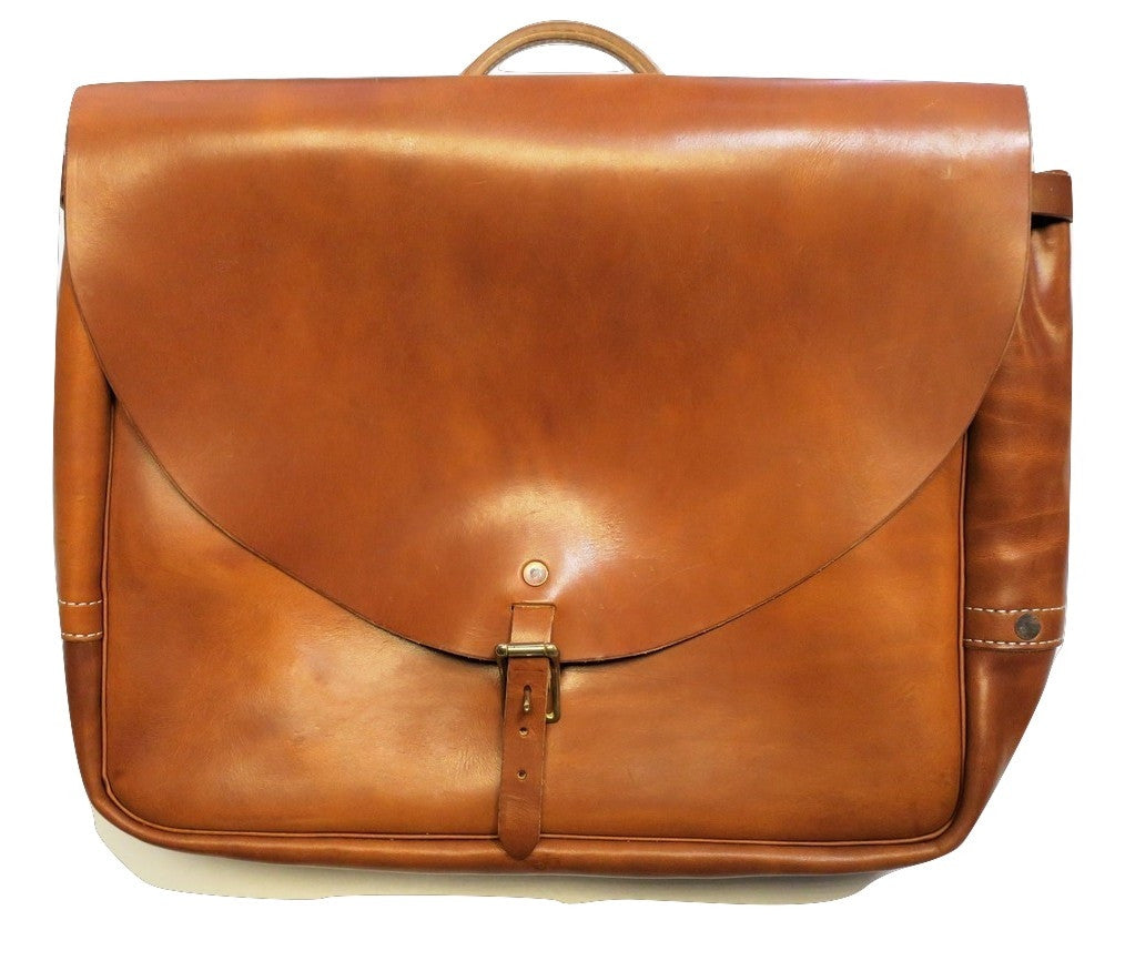 Postal Bag // Saddle Tan
