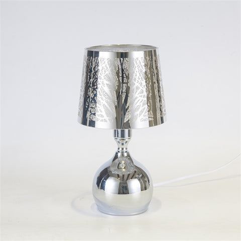 Bulbus Shaped Wax Melt Burner - Silver Tree