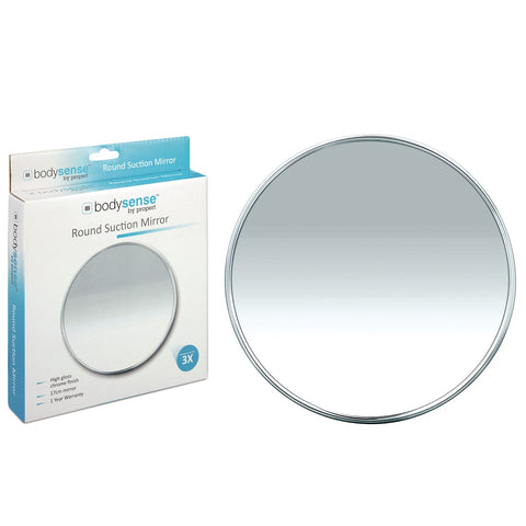 BODYSENSE ROUND SUCTION MIRROR - 3X MAGNIFICATION