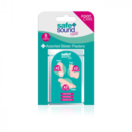 BLISTER ASSORTED PLASTERS 6 PACK