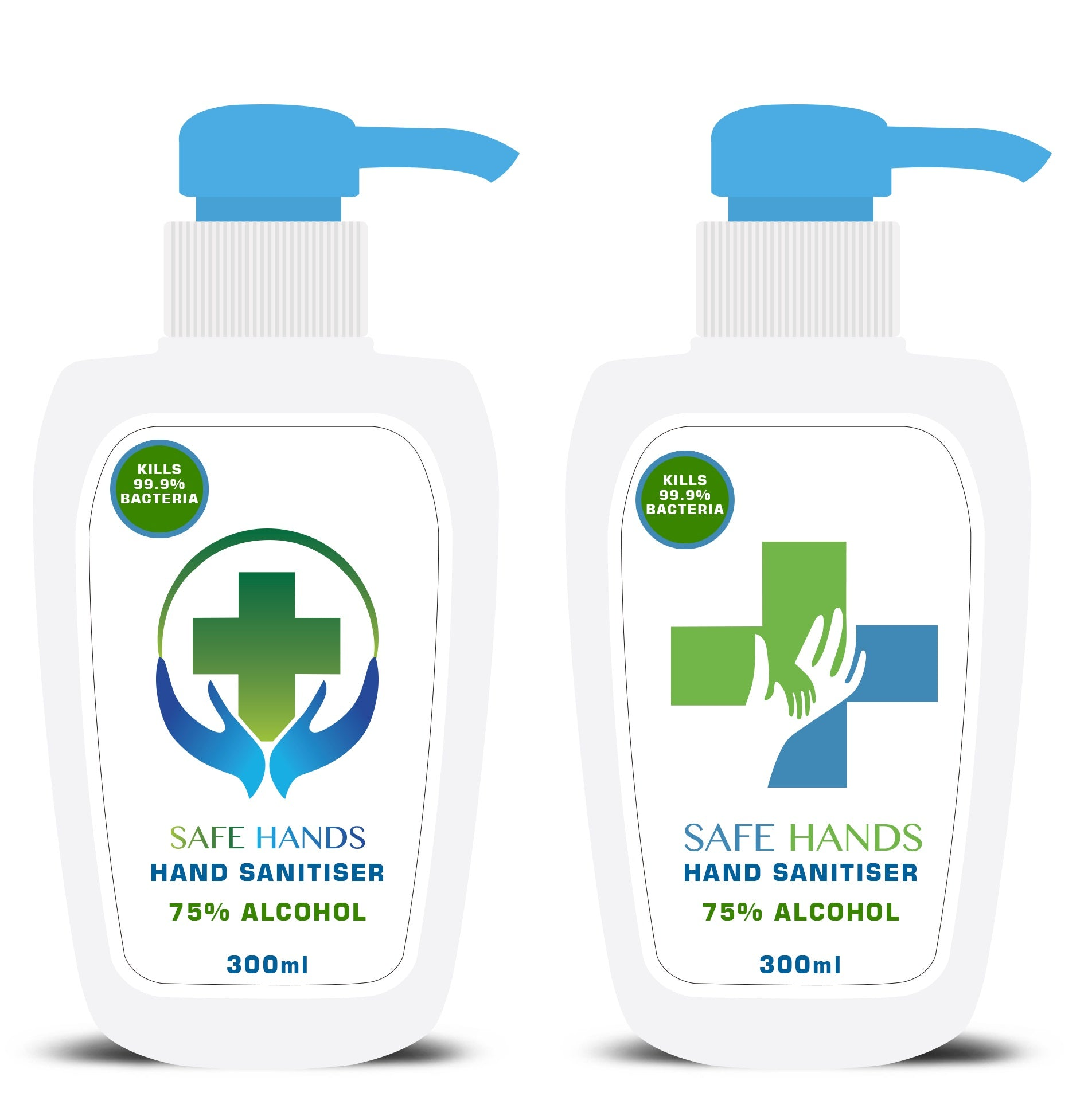 SAFE HANDS HAND SANITISER 300ML