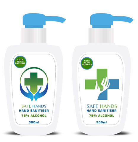 SAFE HANDS HAND SANITISER 60ML