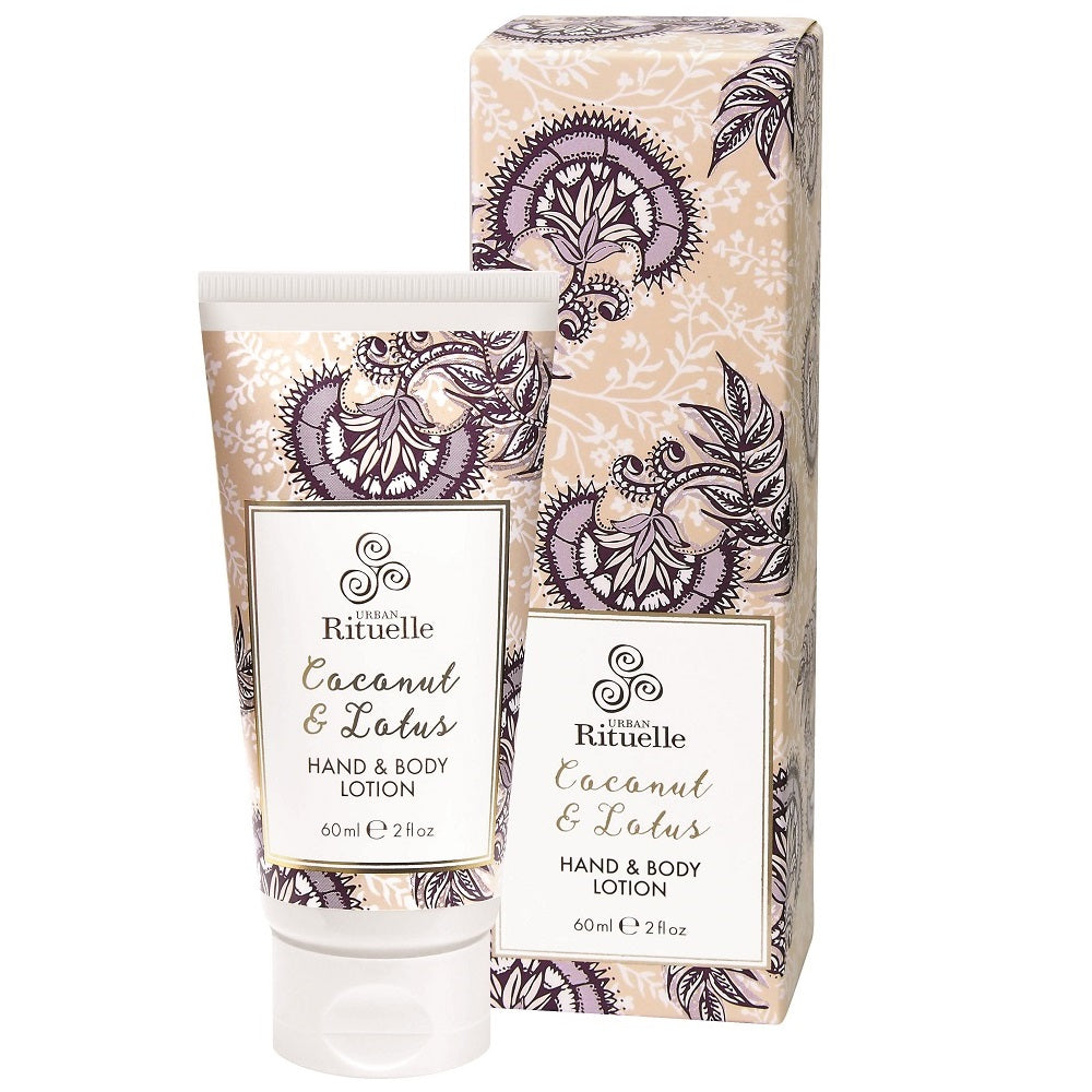 S.S COCONUT & LOTUS 60ML HAND & BODY LOTION