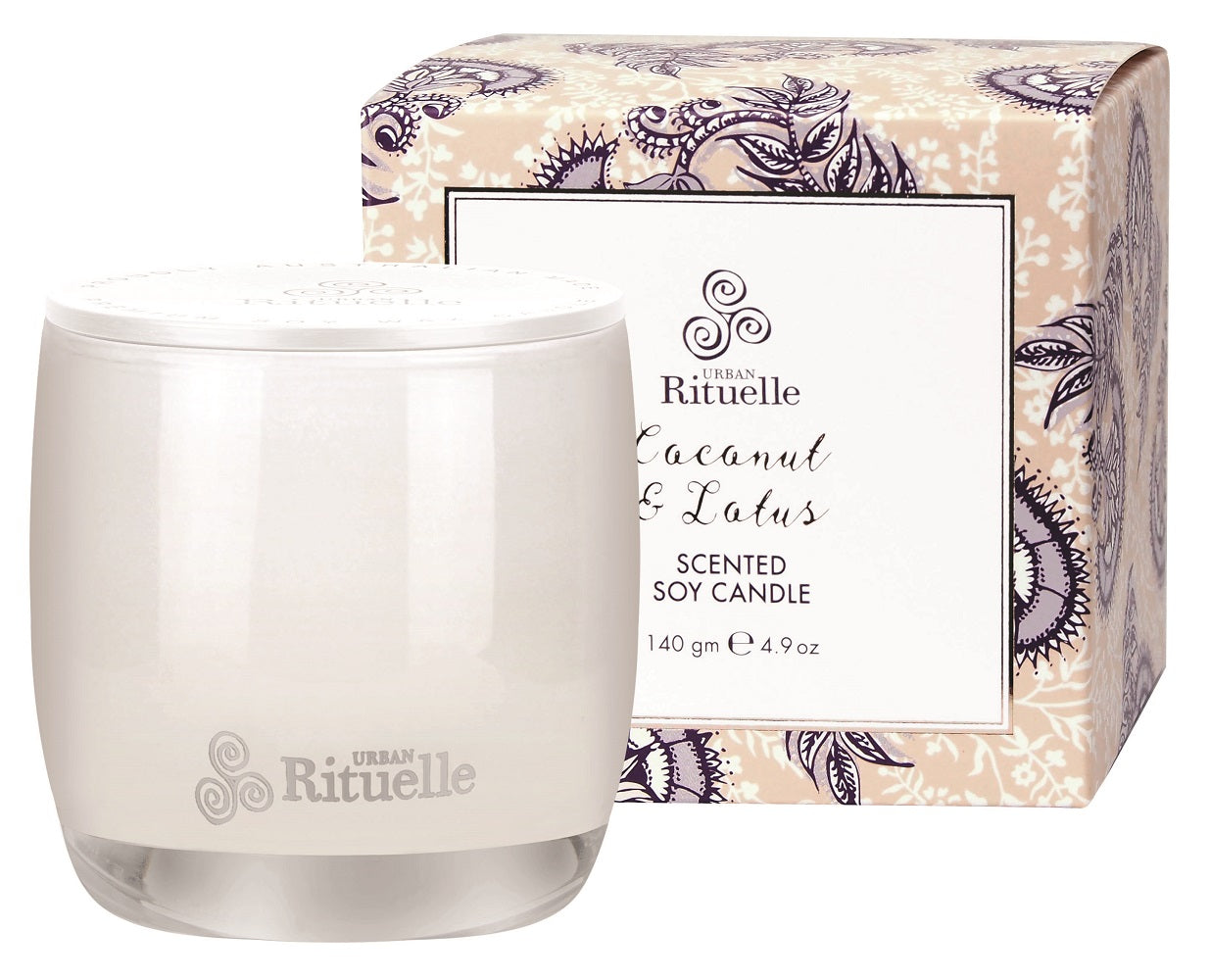 S.S COCONUT & LOTUS 140GM CANDLE