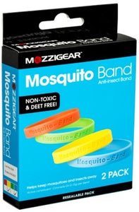 Mosquito Anti-Insect Band 2 Pack Plain Adult Size