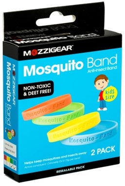 Mosquito Anti-Insect Band 2 Pack Kids Size
