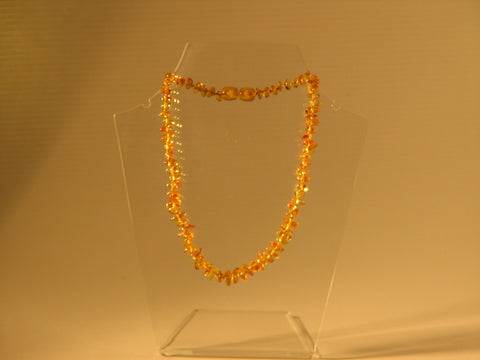 "Baby Necklace 14/15"" - Citrin"