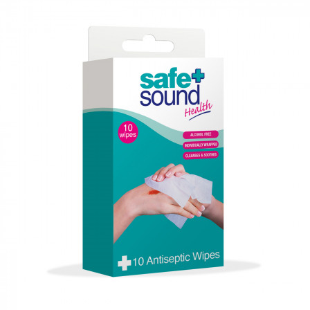 ANTISEPTIC WIPES - 10 PACK