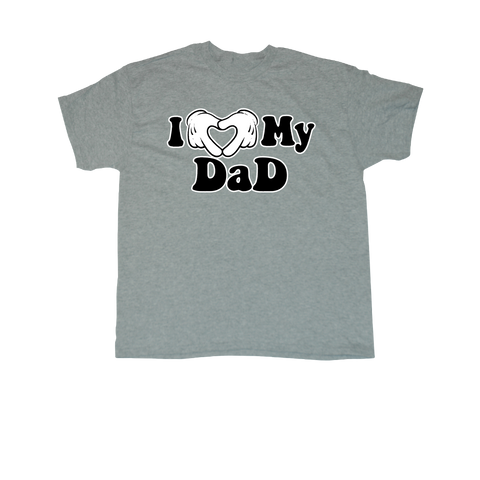 I ♥ My Dad - T-shirt