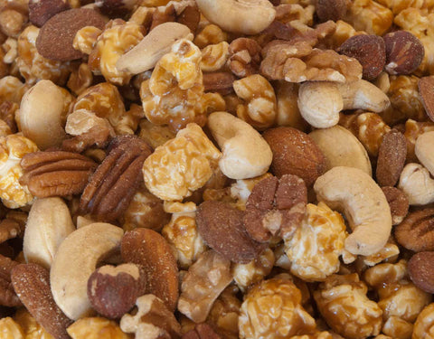Caramel With Organic Nuts