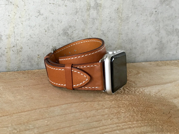 Double Tour Leather Strap - WristWear - 1