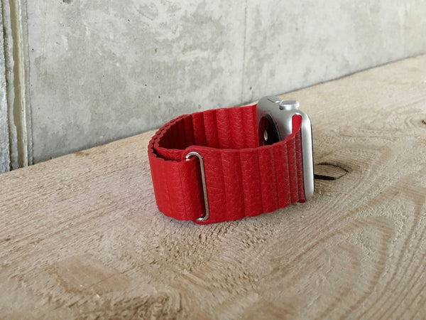 Magnetic Closure Leather Loop - WristWear - 14