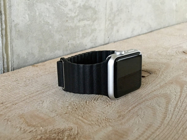 Magnetic Closure Leather Loop - WristWear - 8