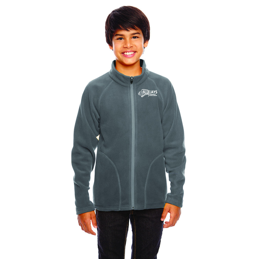 BLUEJAYS - Team 365 Youth Campus Microfleece Jacket
